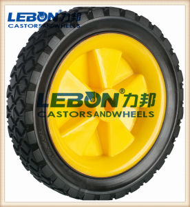 Solid Rubber Wheel, Black Rubber Wheel