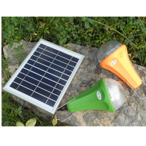 Mini Solar Home Lighting/Solar Panel Light with 3W 5W Lighting pictures & photos