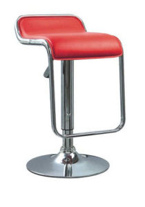 (SX-169) Commercial Furniture PU Leather Bar Chair pictures & photos