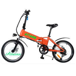 20inch 36V 250W Lithium Battery Foldable Electric Bicycle with Pedals pictures & photos