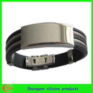 Men Style Silicoen Bracelet (SY-HS-004)