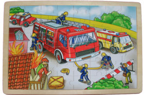 Firefighting Jigsaw Puzzle Wooden Puzzle (34082) pictures & photos