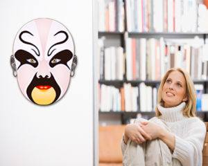 Peking Opera Mask Sticker (TP-073-26)