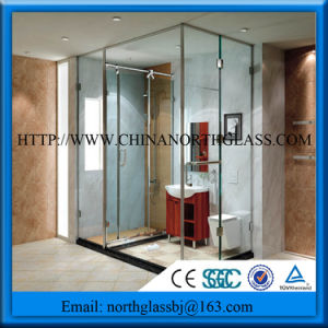 Clear Tempered Glass Shower Screen Glass pictures & photos