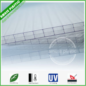 Clear Plastic Building Roofing Policarbonato PC Triple-Wall Layer Sheets pictures & photos