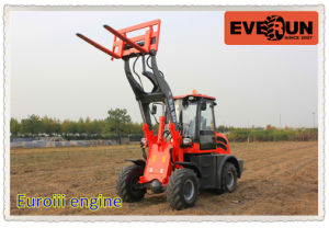 Heavy Front End Mini Wheel Loader with CE pictures & photos