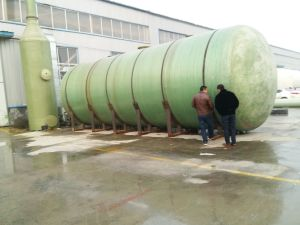 Rust Proof GRP FRP Fiberglass Acid Chemical Storage Tanks pictures & photos