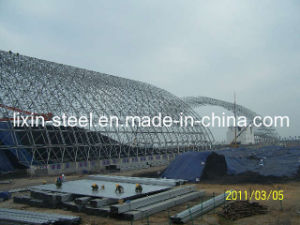 Power Station Metal Frame Project Steel Space Truss Roof System pictures & photos