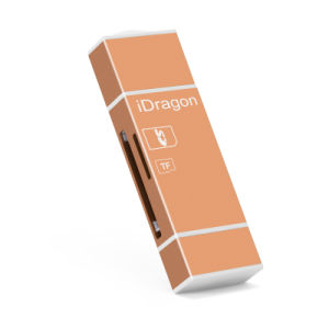 SD SDHC Sdxc Lightning Card Reader Microsd Microsdhc Microsdxc 2 in 1 iPhone Card Reader pictures & photos