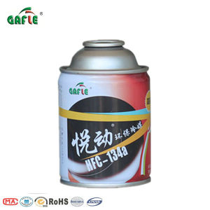 Gafle Three-Piece Can R134A for Air Conditioner Refrigerant Gas pictures & photos