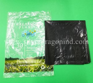 Eco-Friendly Biodegradable Garbage Bags, Landfill Breakdown pictures & photos