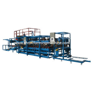 Rock Wool Sandwich Roof Wall Panel Production Line