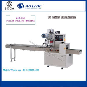 Flow Fillow Automatic Baked Toast Bread Packing Machine Factory pictures & photos