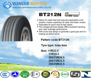 TBR Tire, Truck&Bus Tire, Radial Tire Bt212n 285/75r24.5 pictures & photos