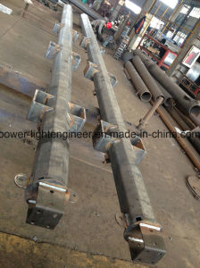 Hot DIP Galvanization Electric Power Steel Tubular Pole pictures & photos