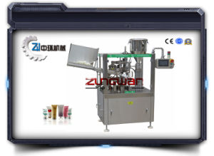 Plastic Tube Toothpaste Filling and Sealing Machine pictures & photos
