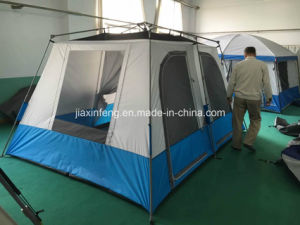 Family Automatic Camping Tent with Size 366X275X193cm