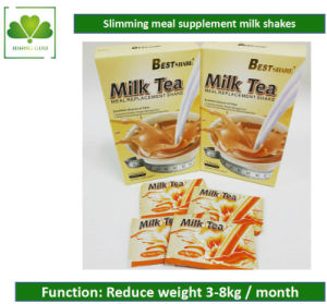 Fast Slimming Milk Tea Meal Replacement Natural Food for Weight Loss pictures & photos