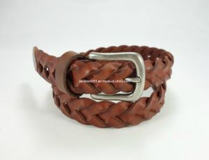 Fashion Women Webbing Leather Belt pictures & photos