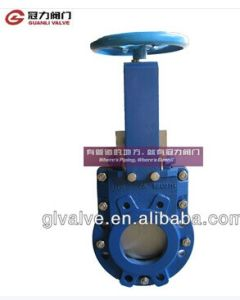 Bi-Directional Knife Gate Valves Manual Operation pictures & photos
