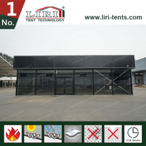 Inflatable Cube Structure Tent with Black PVC Fabric for Events pictures & photos