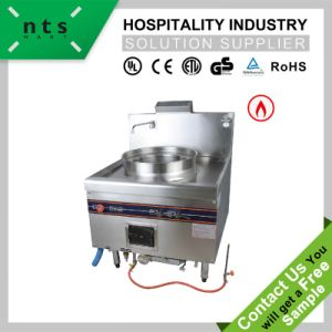 1 Burner Gas Cooking Steamer pictures & photos