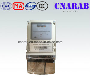 Three-Phase Four-Wire Static Active Energy Meter pictures & photos