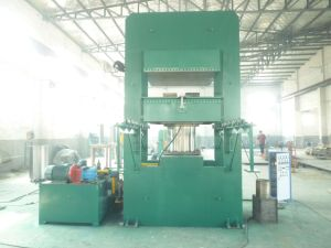 Automatic Rubber Frame or Column Type Plate Vulcanizer pictures & photos