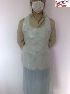 4.8g Disposable Plastic PE Apron (Hot sale in Dammam) (2014SFPA014) pictures & photos