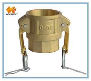 Coupler Type D Sand Casting Female BSPP Threaded Camlock Fittings pictures & photos