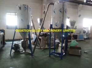 High Output Plastic Color Master Batch Granulating Production Line pictures & photos