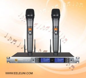 Remote Operation Frequency Stabilization Professional Wireless Microphone