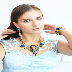 New Item Resin Glass Acrylic Fashion Jewellery Set Earrings Bracelets Necklaces Fashion Jewelry pictures & photos