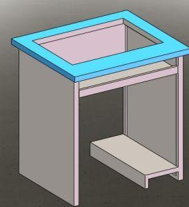 Smart Desk for Computers, Smart Desk in School Furniture