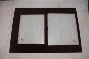 Aluminum Frame Toughened Glass Built-in Sliding Window