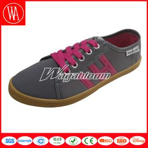Men Lace-up Canvas Casual Shoes in Good Quality pictures & photos