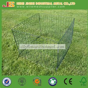 Hbei Jinshi Factory Powder Coated Metal Garden Wire Composter pictures & photos
