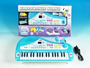Plastic Electronic 37 Keys Organ with Microphone (10216812) pictures & photos