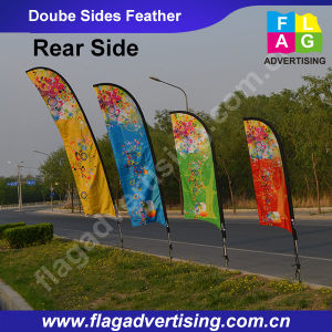 Factory Wholesale Excellent Advertising Beach Flag, Flying Banner, Sail Flag, Feather Flag pictures & photos