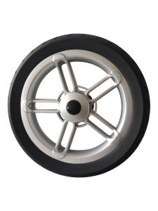 "11"" Black Baby Stroller Wheel pictures & photos"