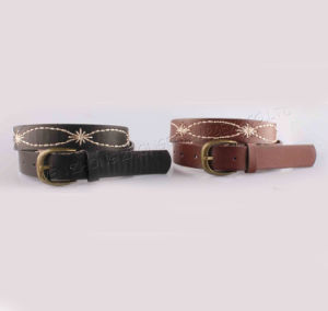 2017 Women Fashion Leather Belts with SGS (F4240E) pictures & photos
