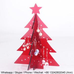 Christmas Tree Acrylic Earring Display Stand pictures & photos