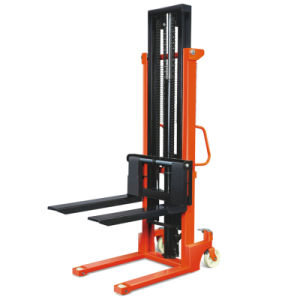 1.5 T Manual Forklift Manual Pallet Stacker pictures & photos