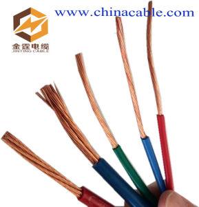 Whole Sale 2/3/4 Core PVC Black Sheath Copper Flexible Cable 1.5mm Electric Wire pictures & photos