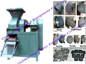 Coal Charcoal Powder Four-Roller Briquette Ball Press Machine pictures & photos