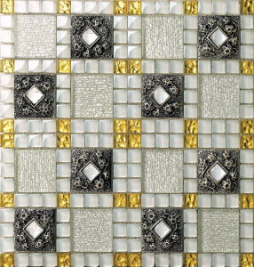 Building Material Wall and Floor Glass Mosaic Ma-GS1001 pictures & photos