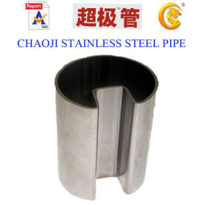 SUS201, 304, 316 Stainless Steel Pipe Galss Handrail (42.4-76.2mm) pictures & photos