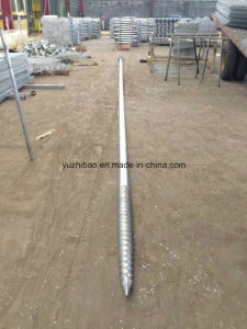 China Supplier of HDG Ground Screw, Ground Pole Anchor, Ground Anchor pictures & photos