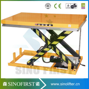 China 2500kg Scissor Hydraulic Table Lift pictures & photos