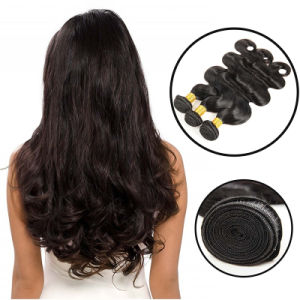 Unprocessed 7A Peruvian Virgin Hair Body Wave 100% Human Hair pictures & photos